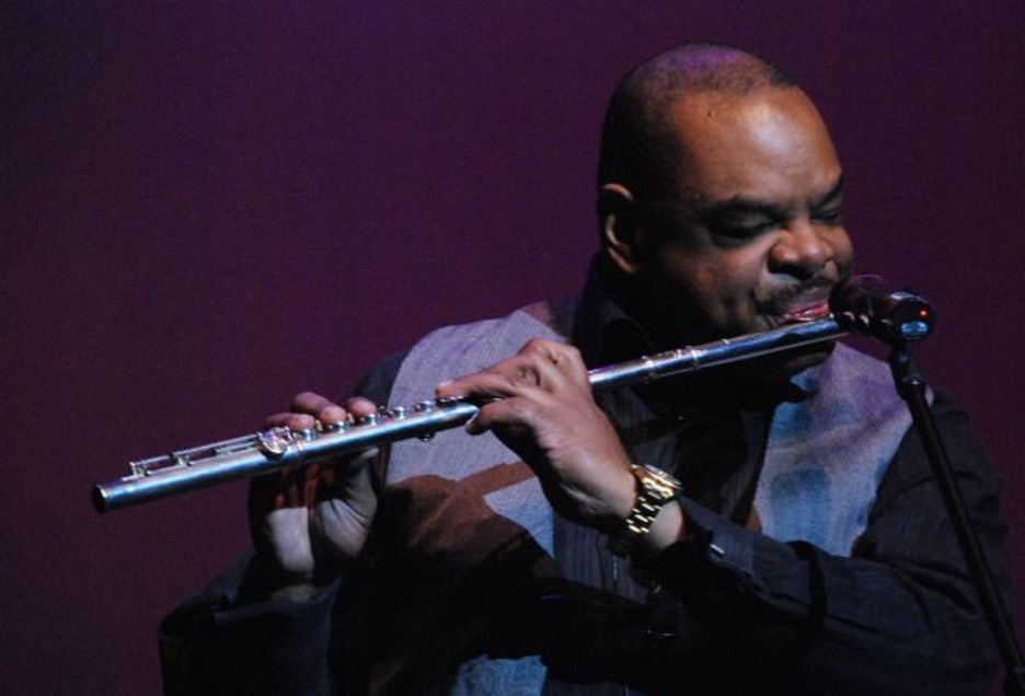 kenny Powell on flute